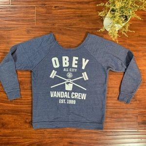 Obey Vandal Crew Sweatshirt